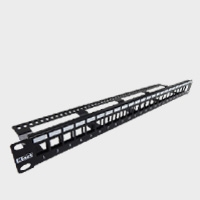 Unloaded Cat6 Patch Panel