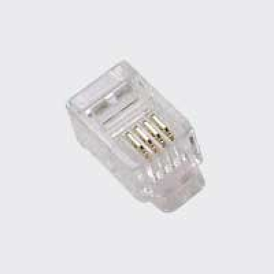 RJ11 4PIN TELL CONNECTOR