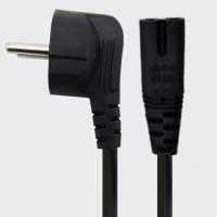 2PIN NOTE BOOK POWER CORD
